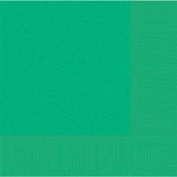 Festive Green 3-Ply Dinner Napkins - 20ct | Party Supplies