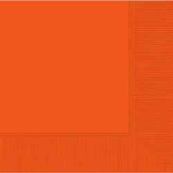 Orange Peel Dinner Napkins 20 ct | Party Supplies