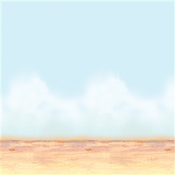 Desert Sky & Sand Backdrop | Party Supplies