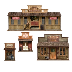 Wild West Town Props | Party Supplies
