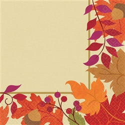 Festive Fall Dinner Napkins | Party Supplies