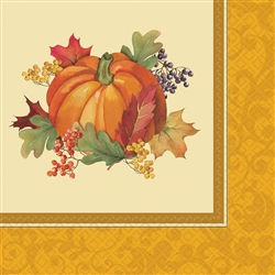 Bountiful Holiday Dinner Napkins | Party Supplies