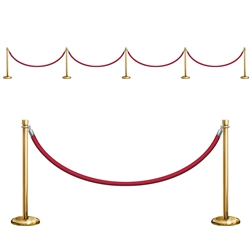 Stanchion Party Props
