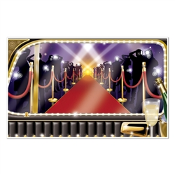 VIP Limo Arrival Backdrop | Party Supplies