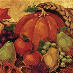 Harvest Still Life Dinner Napkins | Party Supplies