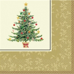 Classic Victorian Tree Dinner Napkins | Party Supplies