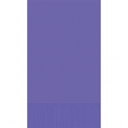 New Purple 3-Ply Guest Towel - 16ct | Party Supplies