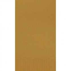 Gold Guest Towels - 16ct. | Party Supplies