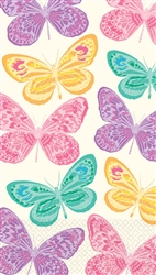 Spring Butterflies Guest Towels | Party Supplies