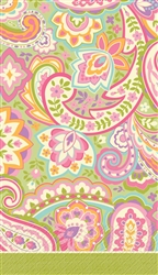 Pretty Paisley Guest Towels | Party Supplies