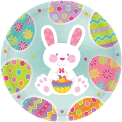 "Easter Enchantment Round 7"" Plates 