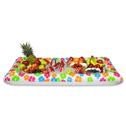 Inflatable Luau Buffet Cooler