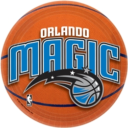 "Orlando Magic 7"" Round Paper Plates 