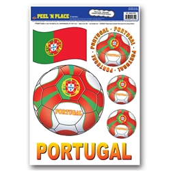 Portugal Peel 'N Place