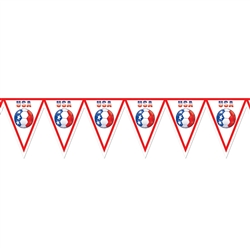 United States Pennant Banner