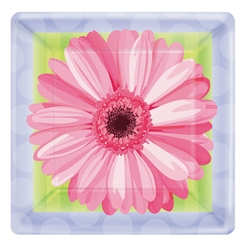 "In Bloom 7"" Square Plates 
