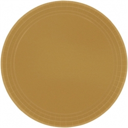 "Gold Paper 9"" Plates - 8ct. 