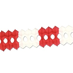 Red & White Arcade Garland