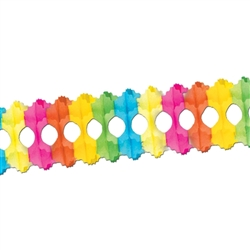 Packaged Multi-Color Arcade Garland
