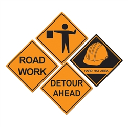 Construction Sign Cutouts