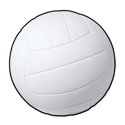 Volleyball Cutout