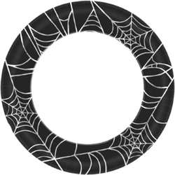 Spider Web Plates 8-1/2"