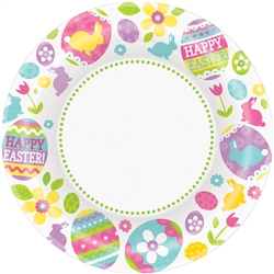 "Egg Hunt Round 6-3/4"" Plates 