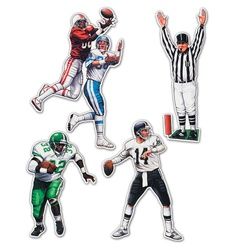 Packaged Football Figures