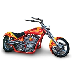 3-D Chopper Centerpiece
