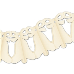 Ivory Westminster Bell Garland