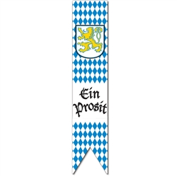 Jointed Oktoberfest Pulldown Cutout 6' | Party Supplies
