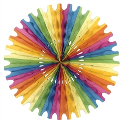 Multi-Color Tissue Fan