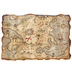 Plastic Treasure Map