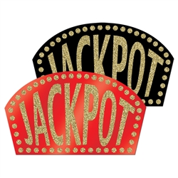 Glittered Jackpot Signs