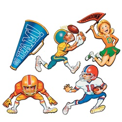 "18"" Football Cutouts"