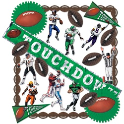 Touchdown Decorating Kit - 25 Pieces