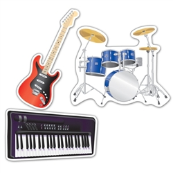 Musical Instrument Cutouts
