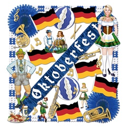 Oktoberfest Decorating Kit - 37 Pieces