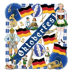 FR Oktoberfest Decorating Kit - 37 Pieces