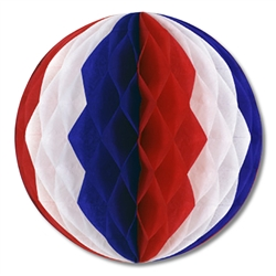 Red, White and Blue Tissue Balls