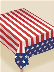 Stars & Stripes Table Cover | Party Supplies