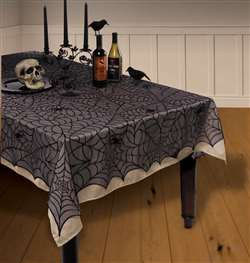 Midnight Lace Table Covers | Party Supplies
