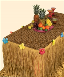 Luau Transform-a-Table Kit | Luau Party Supplies