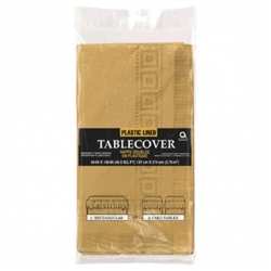Gold Paper Table Cover - 6ct. | Party Supplies