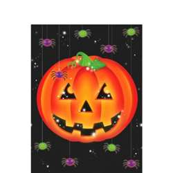 "Perfect Pumpkin Table Cover 54"" x 102"" 