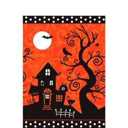 Frightfully Fancy Plastic Table Cover | Party Supplies