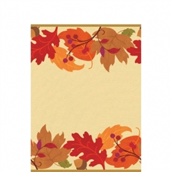 "Festive Fall 54"" x 102"" Table Covers 