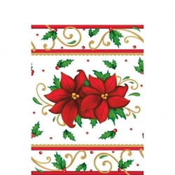 Winter Botanical Plastic Table Covers | Party Supplies