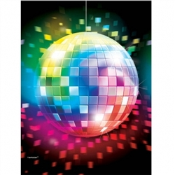Disco Fever Plastic Table Cover | Party Supplies
