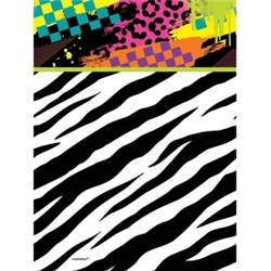 Totally 80's Plastic Table Cover | Party Supplies